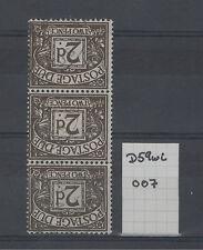 1954-63 QEII Watermark Varities Postage Dues Choice of stamps FREE GLOBAL POST