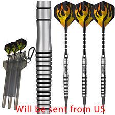 Tungsten Soft tip Darts 16/18/20g+Carry case+6Aluminum shafts+18Flights CyeeLife