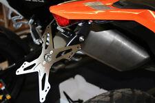 EVOTECH PORTATARGA REGOLABILE COD ESTR-0902 PER KTM 690 SMC / ENDURO / R