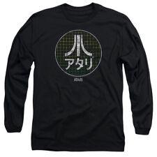 Atari Japanese Grid Mens Long Sleeve Shirt