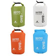LUCKSTONE 5L  Waterproof Bag Rucksack Trockener Beutel Schwimming  ET