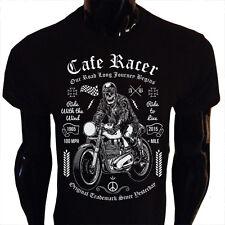 Cafe Racer Camiseta para Hombre Mujer Moto Bicicleta Rider Biker Regalo Presente