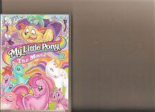 MY LITTLE PONY THE MOVIE DVD RETRO 80S KIDS