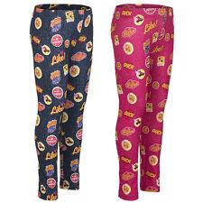 Leggings Pantalones deportivos Niñas Soy Luna Rosa Azul Talla 116 128 140 152