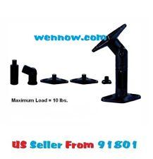 Black - 2 Pack Lot - Universal Wall or Ceiling Speaker Mounts Brackets fits BOSE
