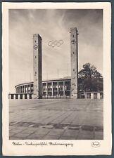 GERMANIA DEUTSCHLAND BERLINO BERLIN 13 STADIO STADION CALCIO Cartolina