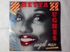"RHETTA HUGHES Angel man 7"" ITALY UNIQUE PS"