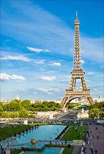 Sticker mural autocollant déco : Tour Eiffel - réf 1347 (16 dimensions)