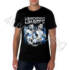 Vasyl Lomachenko vs Jorge Linares Boxing T Shirt Apparel 4LUVofBOXING New BK tee