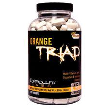 CONTROLLED LABS Arancione TRIPLO 270 TAVOLETTE - MULTI VITAMINE & Minerali