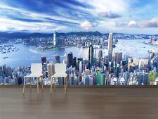 3D Hong Kong City 7 Wall Paper Murals Wall Print Wall Wallpaper Mural AU Summer