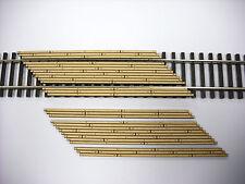 Laser Cut Custom HO Scale Double Lane Left Angled Crossing 2 Pack