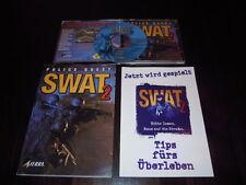   PC retro clásico   Police Quest SWAT 2-viven y mueren en la   sierra  