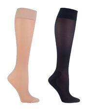IOMI Ladies 18 mmHg Medical 40 Den Graduated Compression DVT Travel Flight Socks