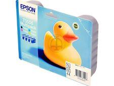 Original Epson t0551 t0552 t0553 t0554 t0556 stylus photo rx 420 520 245 Canard