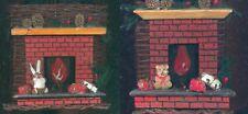 Lot de 2 cache pots Decoration fetes Noel - tres bon etat -  Etat neuf  Noel