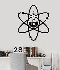 Vinyl Wall Decal Lab Atom Chemistry Science Laboratory School Stickers (3031ig)