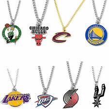 logo necklace charm pendant NBA PICK YOUR TEAM