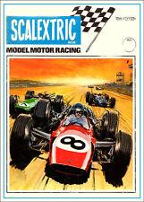 Scalectrix 1969 VINTAGE STAMPA. spedizione gratuita per Regno Unito