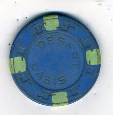 Old Poker Chip from The Desert Oasis