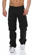 Big Seven Brian Cargo Hose Comfort Fit Herren Stretch Pants Chino Jeans Outdoor