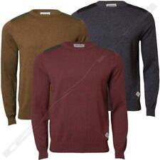 Uomo Maglione superato IMS 070 Sweater Pullover Maglieria Cotone Casual