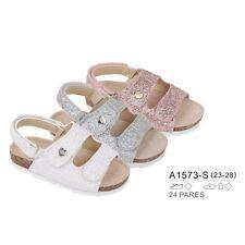 Mädchen Sandale mit Glitzerbandage Kinderschuhe Sommerschuhe