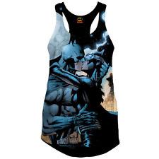 DC Comics Batman señora geek nerd Tank Top-Catwoman Good vs. Evil Kiss