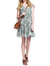 M&S  APPLE Poppy Print Tea Dress with Camisole Size 6-18