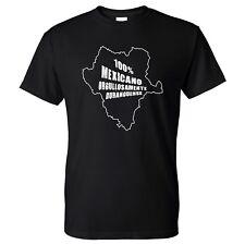 Durango Mexico 100% Mexicano Men's T-Shirt Playera