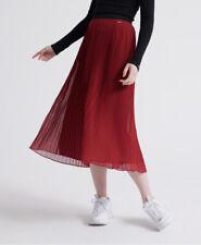 Superdry Womens Pleated Midi Skirt