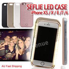 LED Light Up Selfie Luminous Phone Case Cover for iPhone XS X 8 Plus 7 6 Plus 6s