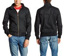 New SUPERDRY Men's Black M50MY004 Longhorn Harrington Bomber Jacket Coat