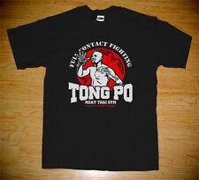 New Muay Thai Boxing Kingboxing Kickboxer Van Damme Movie Tong Po Gym T-shirt