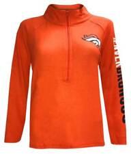 New Era Women's NFL Denver Broncos 1/4 Zip Athletic Jacket Sweatshirt 78051L