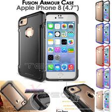 "Apple iPhone 8 (4.7"") [Fusion Armour] Premium Slim Hybrid Protective Case Cover"