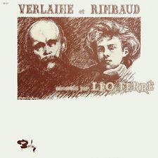 LEO FERRé Verlaine Et Rimbaud FR Press Barclay 80236/37 2 LP
