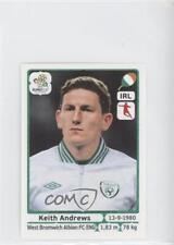 2012 Panini UEFA Euro Album Stickers #356 Keith Andrews Ireland Soccer Card