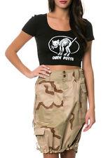 Camo Skirt - Womens Knee Length Skirt Camo