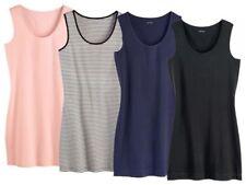 (G4) Esmara Damen TOP Longtop Shirts Achselshirt Longshirt Tank Top Long