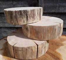 "1 Huge 8-13"" Wood Slice Rustic Wedding Table Craft Decor Natural log Cake stand"