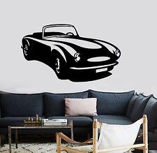 Wall Vinyl Decals Cars Retro Amazing Vechicle Luxury Decor  z3727