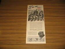 1947 Vintage Ad Continental Red Seal Engines Muskegon,MI Farm Tractor