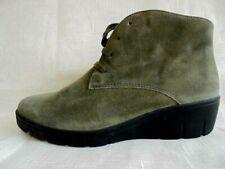 Details zu SEMLER Cleo Stiefeletten Pumps schwarz Leder Gr.41 NEU NP150€ Schuhe Nubukina
