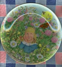 Davenport Collector Plate Linda Worrall Bright Beautifu