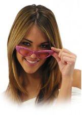 1950s Jahre 50s rosa dame Rock n Roll Sonnenbrille Brille Fett Maskenkostüm