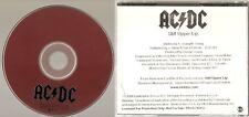 """AC/DC """"Stiff Upper Lip"""" Rare US Promo CD"""