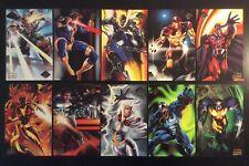 1994 Fleer Flair Marvel Prints Large Promo 10 x 6 Cards Set + Singles You Choose