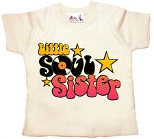 Bebé Música Camiseta Little Soul Sister Funk Soul niña camiseta