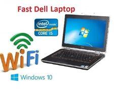 FAST Dell Latitude E6320 Core i5 Windows 10 Windows 7 Laptop SSD HDD WIFI